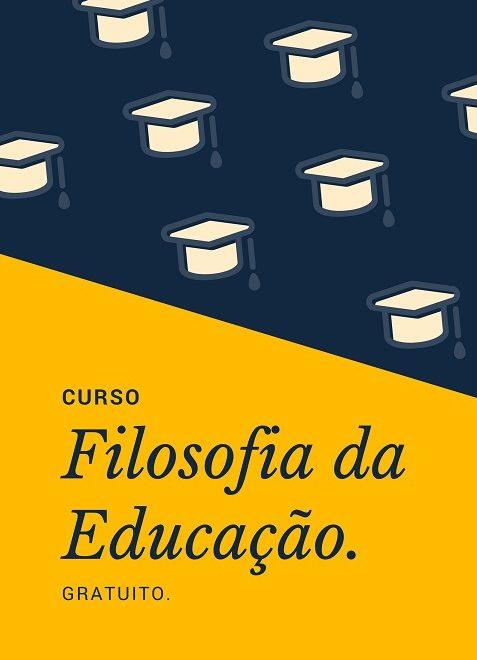 UNIVESP oferece curso gratuito de Filosofia da Educação.